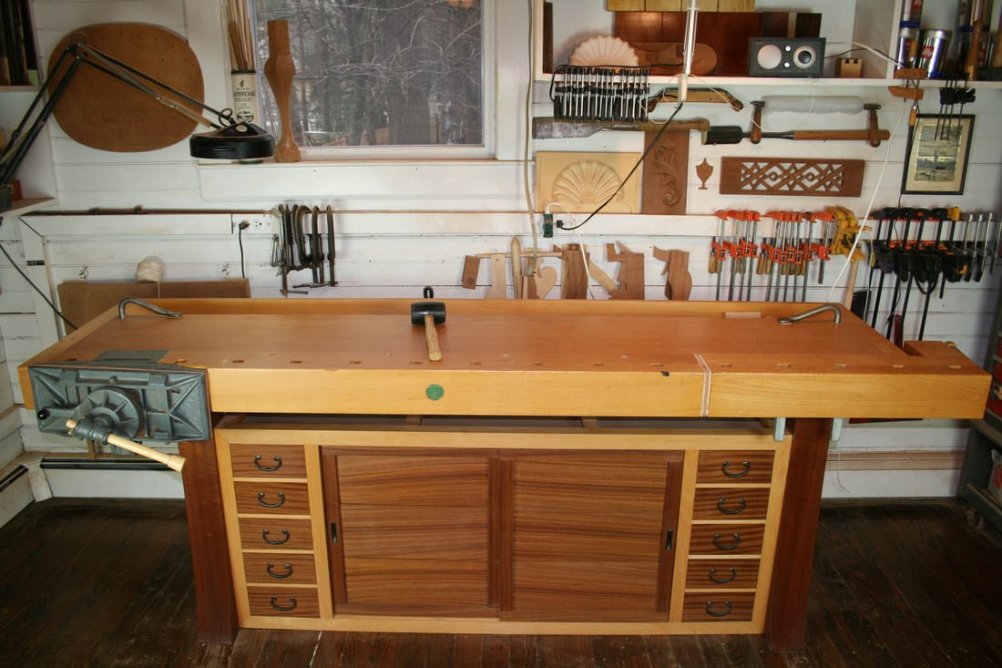 I Think Every Furniture Makeru0027s Goal Is, At Some Point, To Build The Dream  Workbench. I Bought A Good Ulmia Workbench Back In 2001 And Used It For 15  Years.
